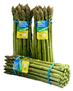 Welsh Bros. Organic Asparagus Bunches